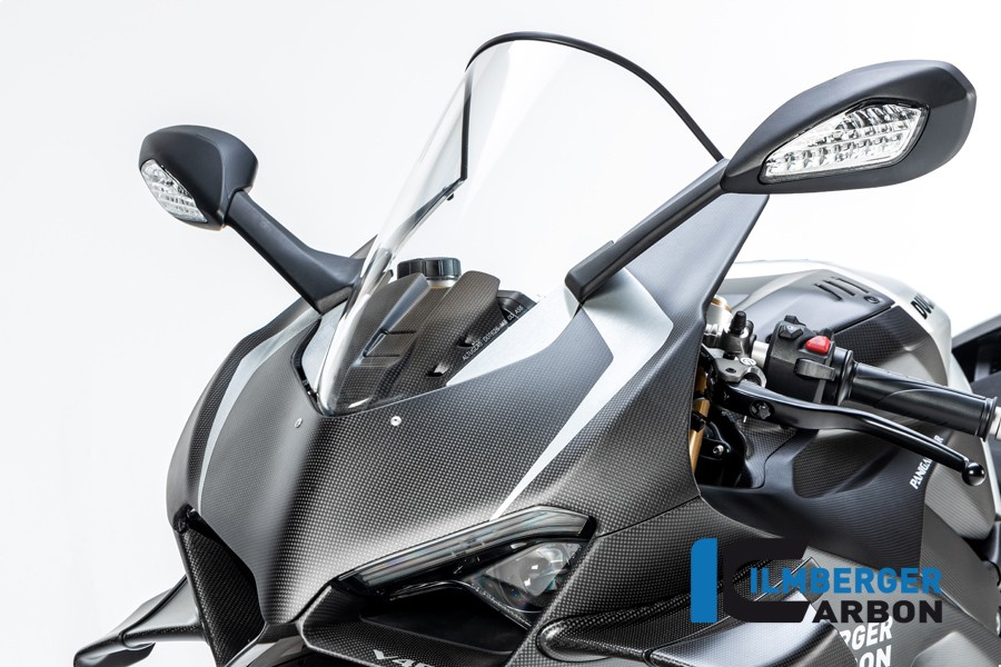 Ilmberger Carbon Upper Fairing Panel (Matte) - Ducati Panigale V4R