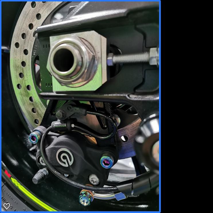 2017+ Suzuki GSX-R1000 84mm Under Mount Caliper Bracket Kit