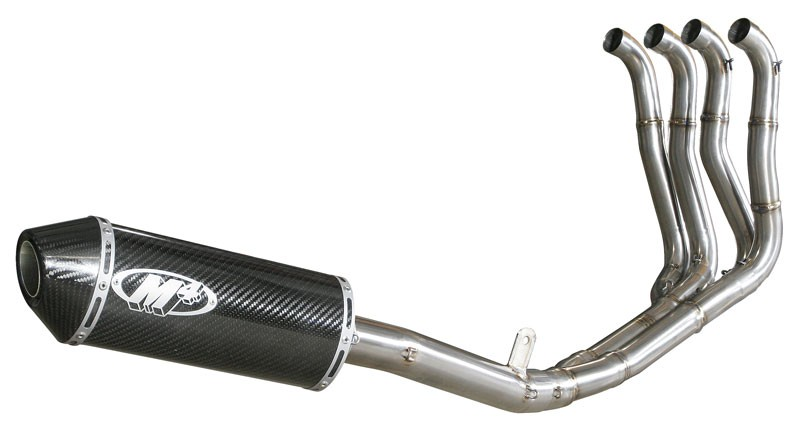 M4 Exhaust Full System with Carbon Fiber Canister 08-10 GSX-R750