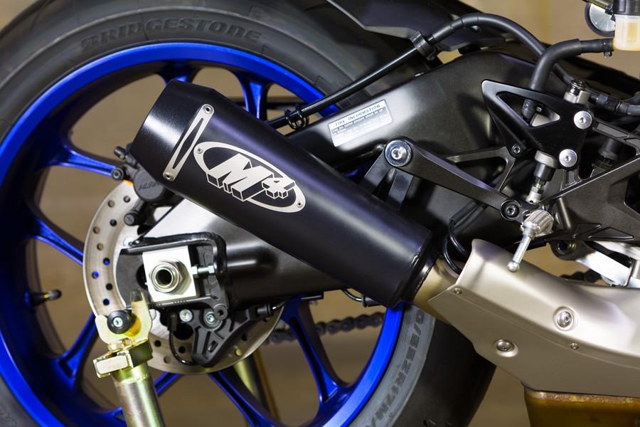 M4 Black Gp Slip On 2015 2019 Yamaha Yzf R1 R1m R1s