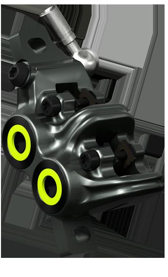 Magura MT7 Pro Radial / 4 Piston Mountain Bike Brake Caliper / Master Cylinder Set