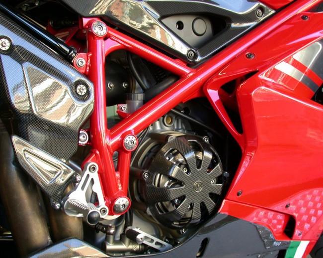 Moto Corse Aluminum Frame Plugs (7 Pieces) - Ducati 898/1098