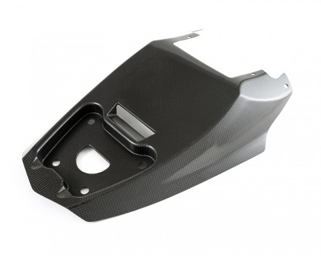 Moto Corse Carbon Fiber Seat, Tail Heat Cover OEM (Large) - Ducati Streetfighter