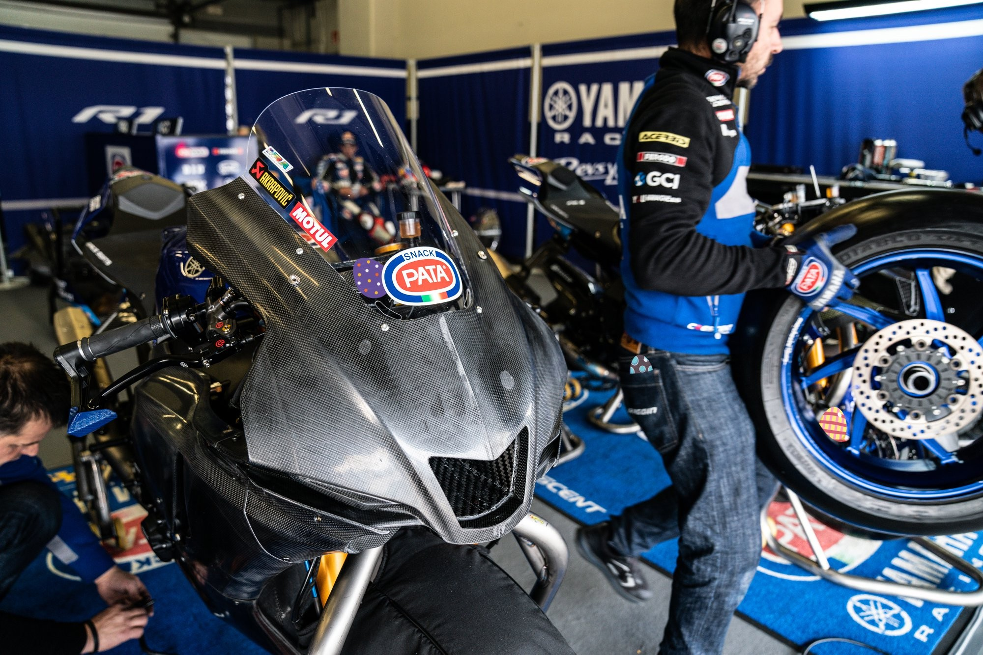 Plastic Bike 2020 Yamaha YZF-R1 Autoclave Carbon Fiber World Superbike Race Bodywork Kit