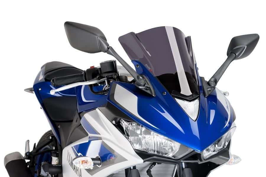 Puig Z-Racing Windscreen -  2015 - 2018 Yamaha YZF-R3