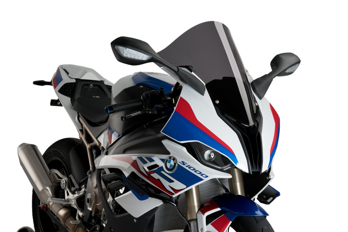 Puig Z-Racing Windscreen - 2020 BMW S1000RR (2019 Euro Model)