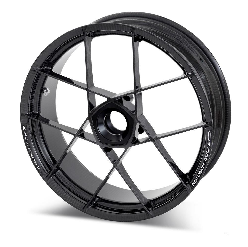 RotoBox Bullet Forged Carbon Fiber Wheels For The Aprilia RS660 2020 - 2021