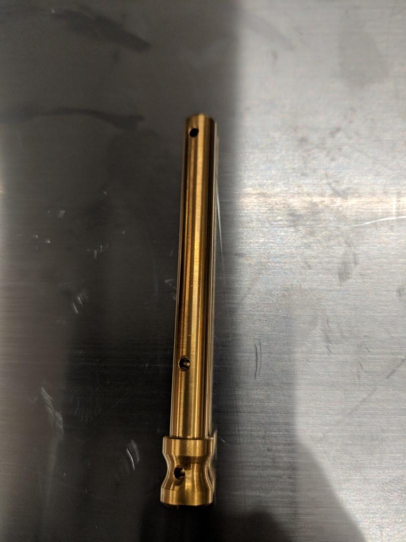 Gold (TiN) Titanium Brake Pad Pin for Billet 84mm Brembo Calipers / GP4-RR