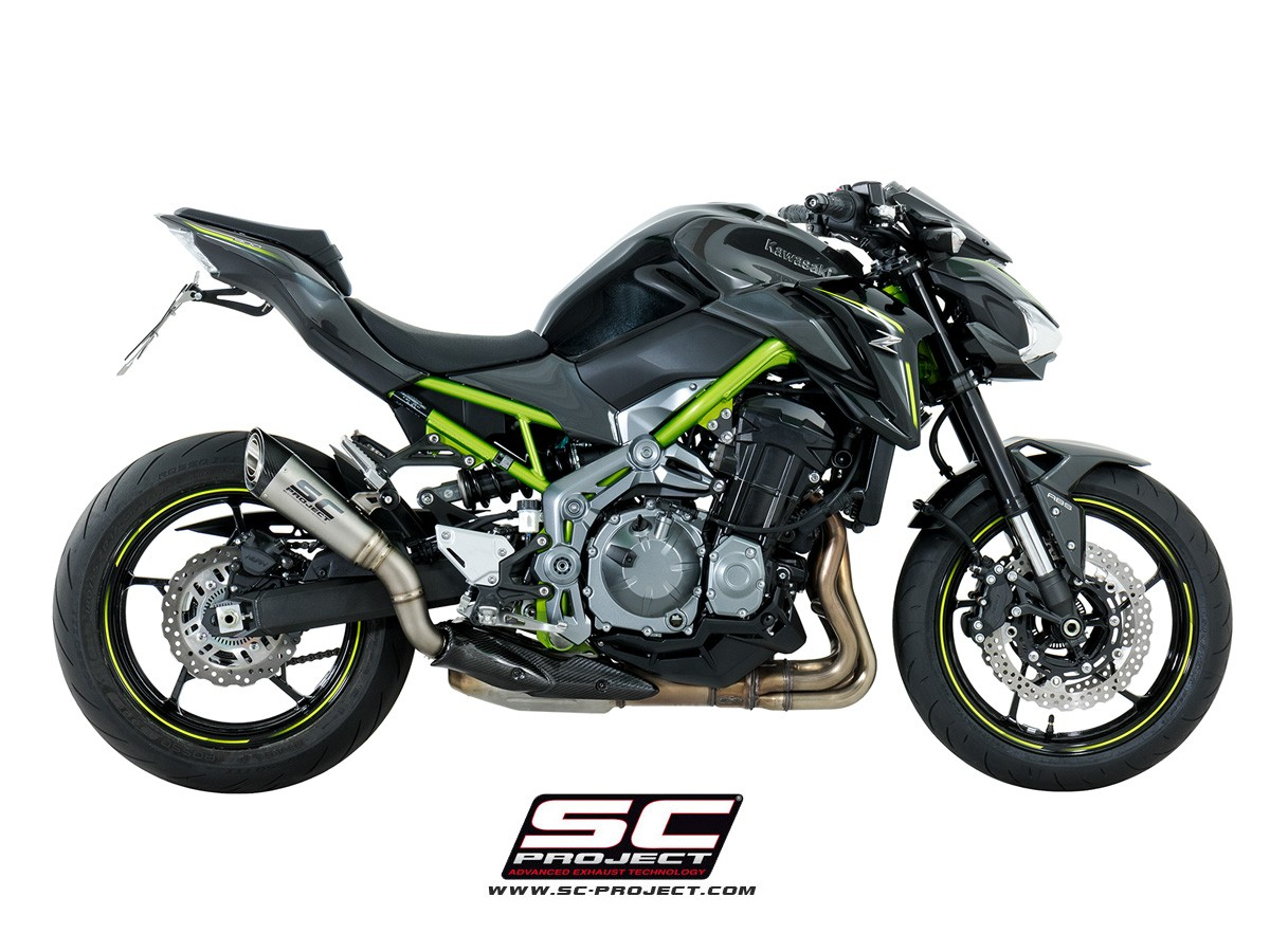 SC-Project S1 Slip On - Kawasaki Z900 2017-2018