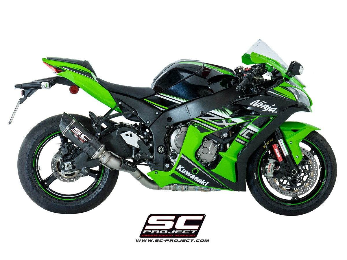SC Project Oval Racing Slip On - Kawasaki Ninja ZX-10R 2016-2018