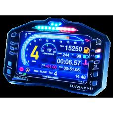 Starlane Davinci-II S Digital Color Dash, Lap Timer & Data Logger - Aprilia, BMW, Ducati, Honda, Kawasaki, Suzuki, Yamaha