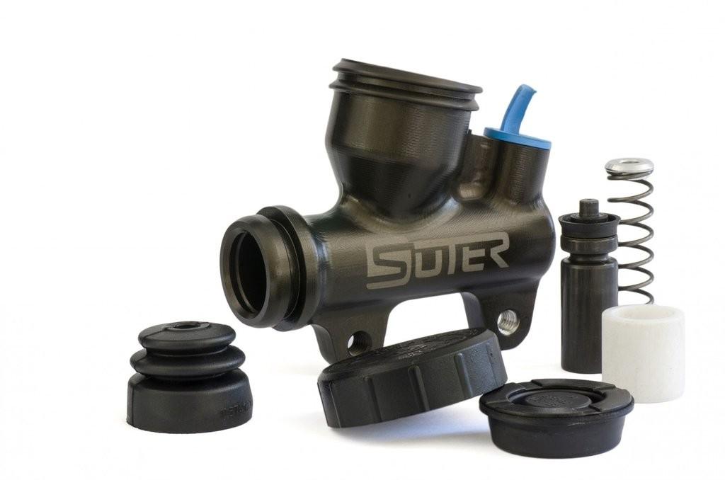 Suter 13mm Billet Rear Master Cylinder With Integrated Reservoir