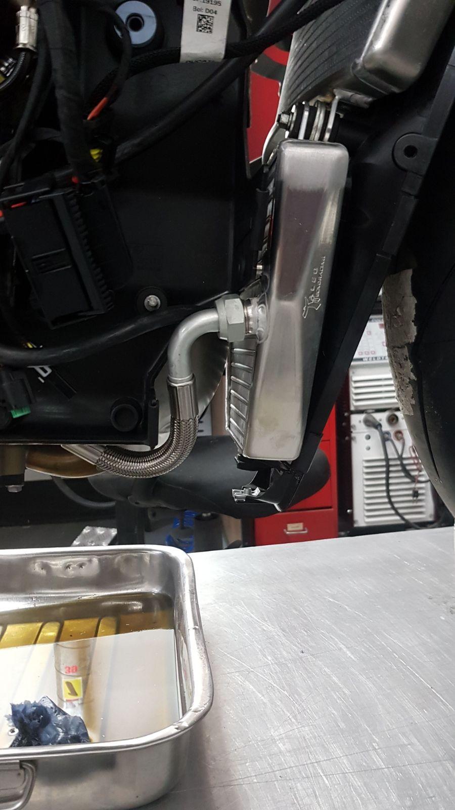 Taleo Tecnoracing Superbike Radiator Kit - Ducati V4 Panigale Superbike Water & Oil Radiator Complete Kit