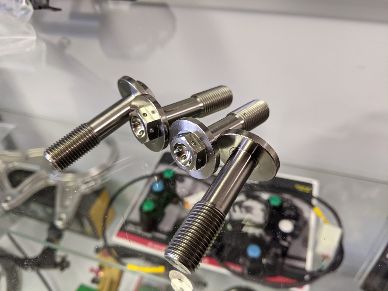 Ducati Panigale V4 / V4 R / Streetfighter V4 Titanium Engine Mount Bolts