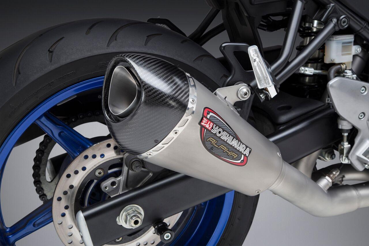 Yoshimura Race Series Alpha T Exhaust System 2017 2018 Suzuki Sv650 11670ap520
