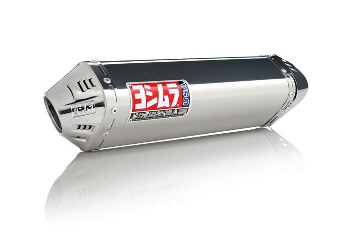Yoshimura TRC Full Exhaust System - 2009-15 Yamaha Zuma 125 - Stainless Steel (SS-SS-SS)