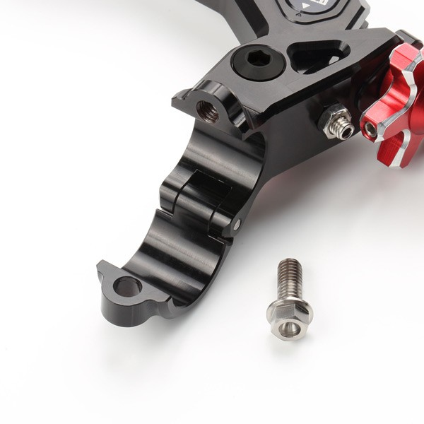 Zeta Racing Ratio Device Flight Perch and Clutch Lever Assembly - 4 Finger - With Clutch Switch