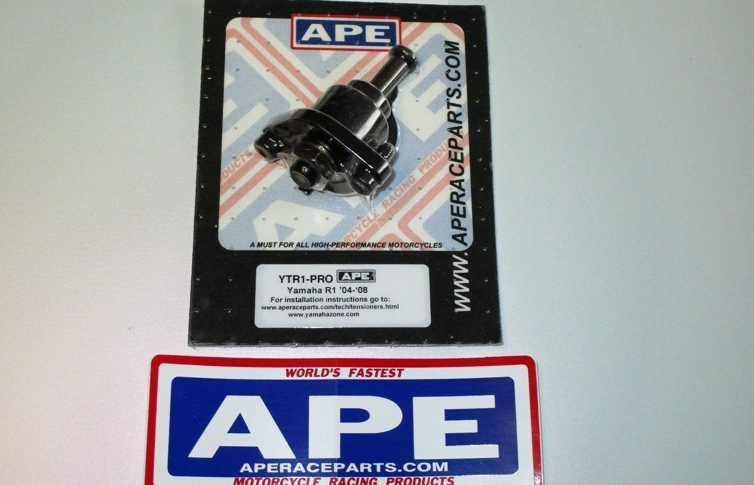 APE Racing Pro Series Manual Cam Chain Tensioner - Yamaha YZF-R1 (04-08)