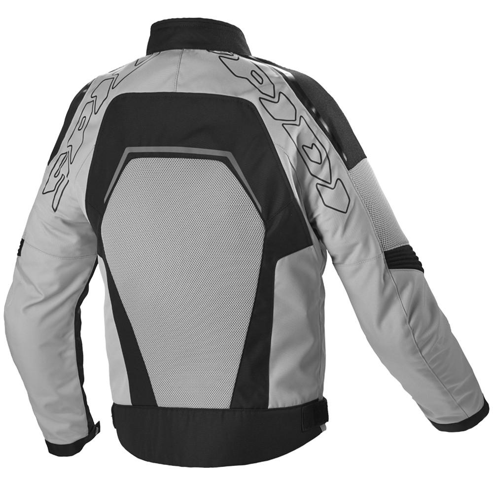 Spidi Tronik Mesh Textile Jacket -  Black / Gray
