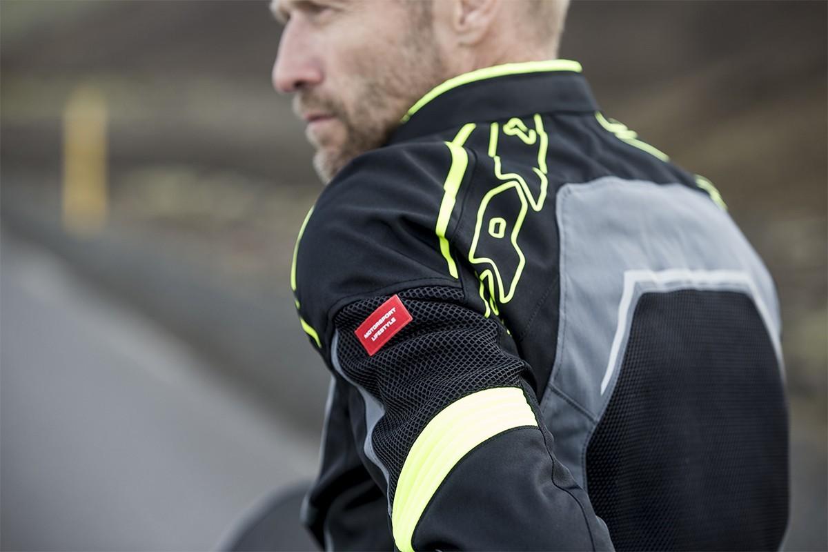 Spidi Tronik Mesh Textile Jacket -  Black / Gray / Yellow