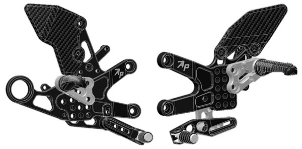 Attack Performance Rearsets - 2009-2014 BMW S1000RR
