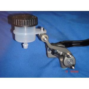 Billet reservoir bracket for Brembo, Nissin and most other master cylinders