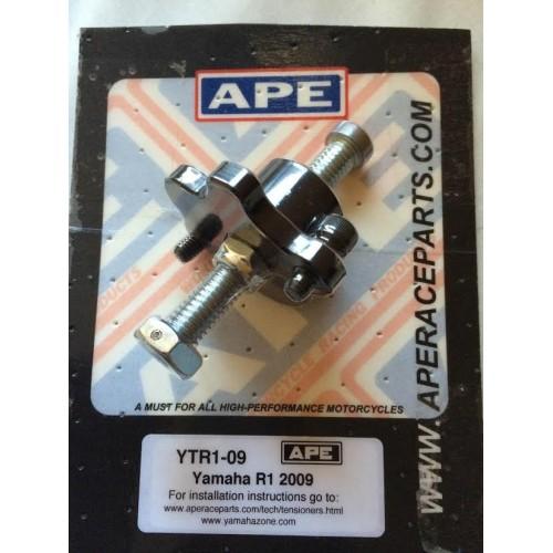 ape racing manual cam chain tensioner - yamaha yzf-r1 (04-06) | fz-1  (07-12) - ytr1  superbike unlimited