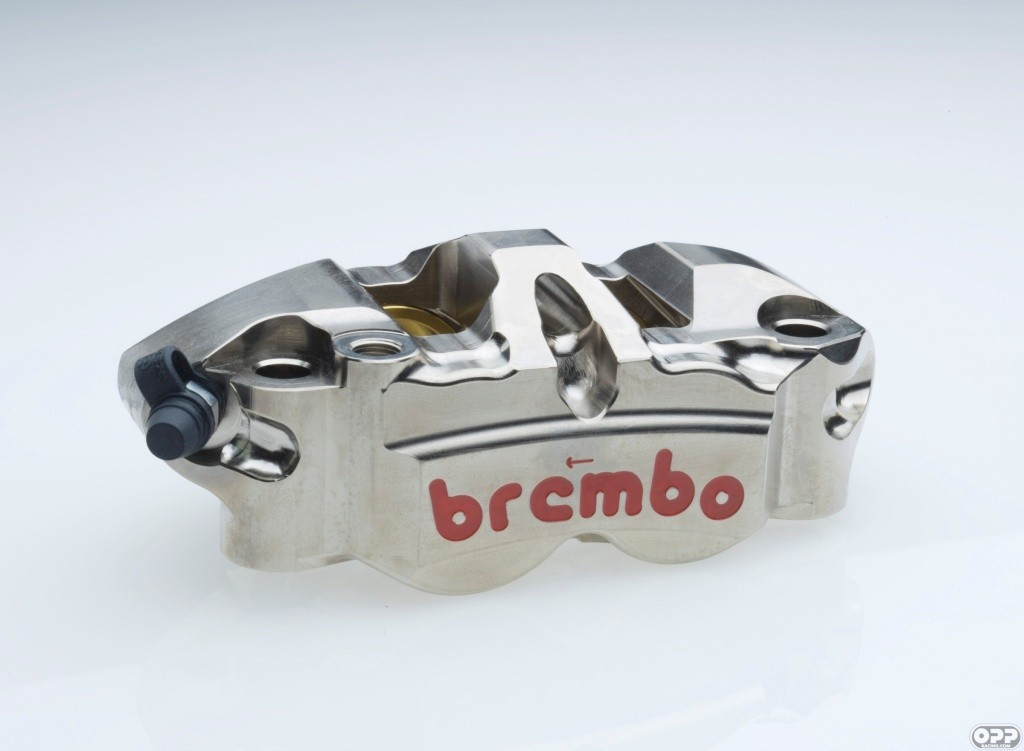 Brembo CNC Monobloc 4 Piston P34 / 38 108mm Flagship Race Caliper