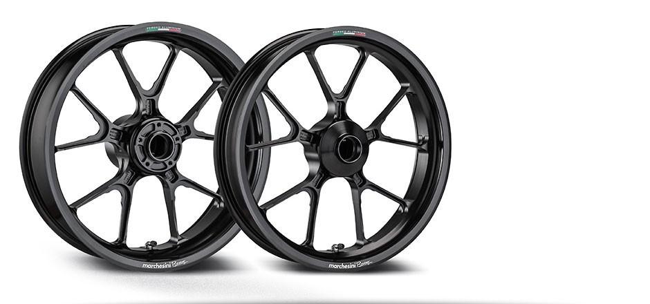 Marchesini M10RR Kompe Motard Forged Supermoto Wheels - Honda, Yamaha, KTM, Suzuki, Kawasaki, Husqvarna, Aprilia