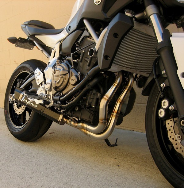 Graves Motorsports Yamaha FZ-07 Full Exhaust System