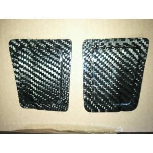 09-13 YZF-R1 Lacomoto Carbon Fiber Undertail Plugs For Low Mount Exhausts