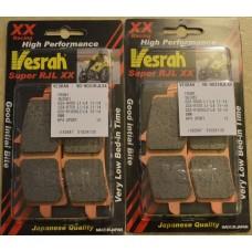Vesrah VD-9031 SRJL-XX Brake Pads GSX-R1000/750/600, RSV4, 675R, RC8