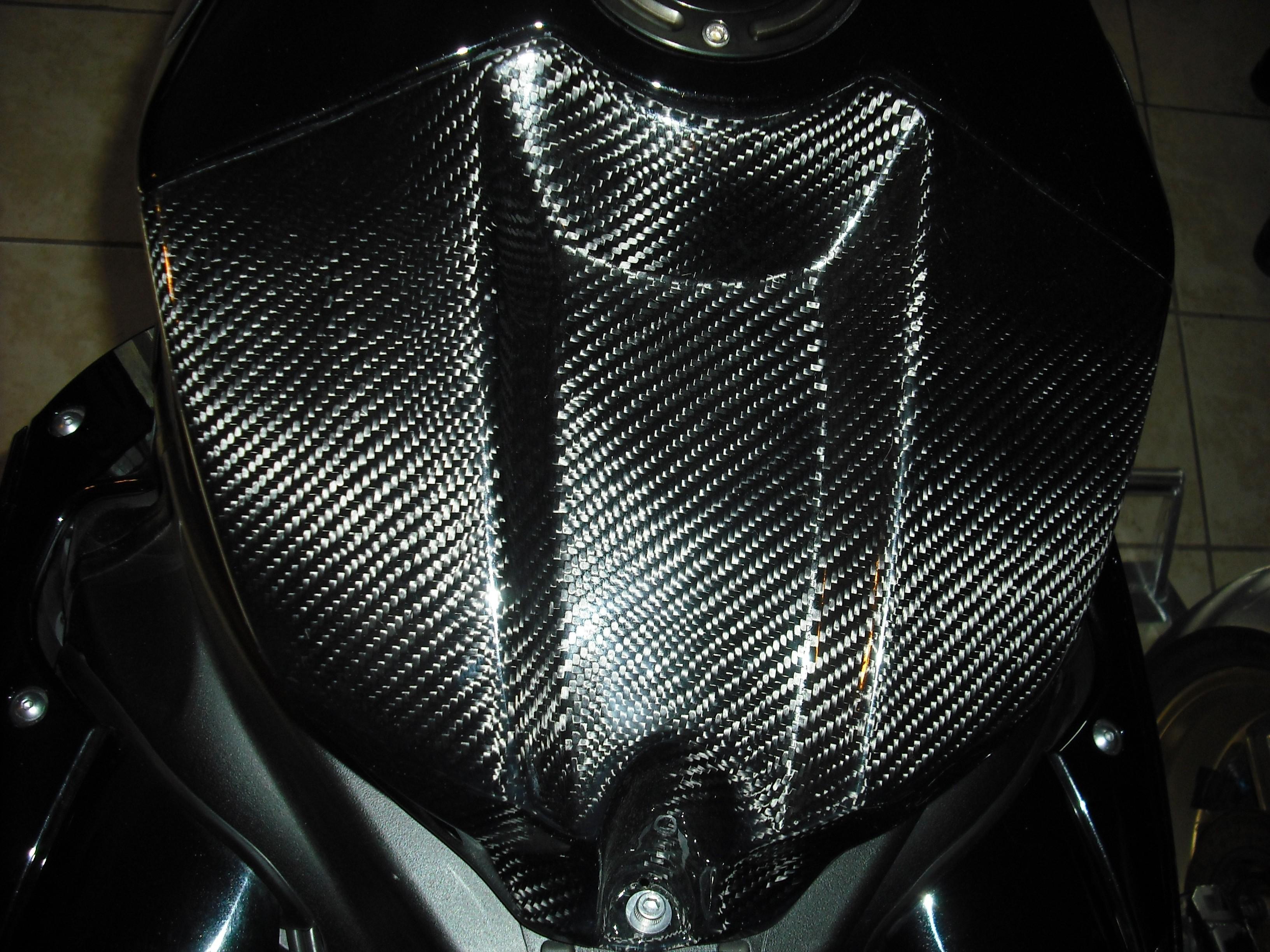 09-14 YZF-R1 Lacomoto M1 Replica Carbon Fiber Airbox Cover