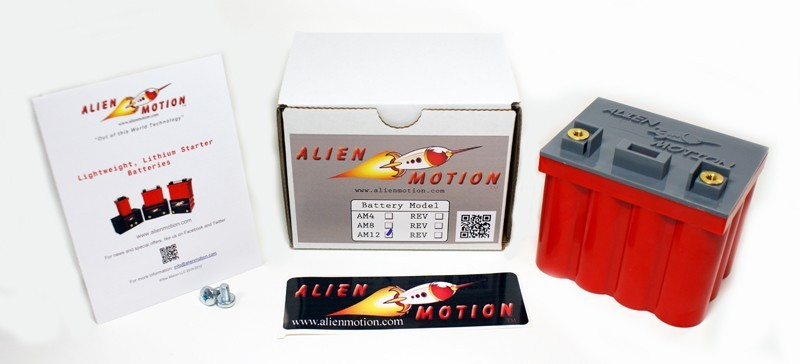Alien Motion AM12-01 12 Cell LiFePO4 Battery