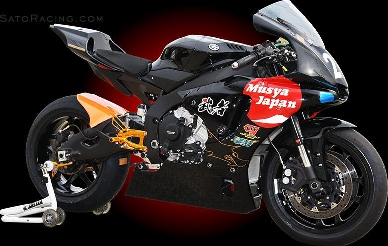 sato racing 2015 yamaha yzf r1 rearsets