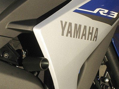 Graves 2015 Yamaha YZF-R3 Frame Sliders
