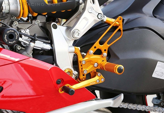 Sato Racing Ducati  899 / 1199 Panigale Rear Set Kit