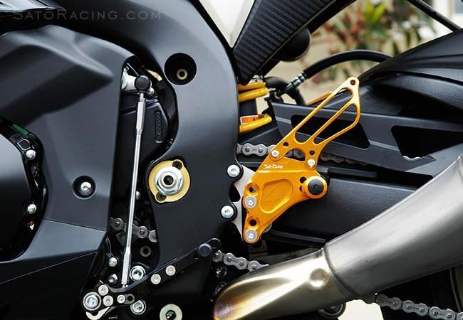Sato Racing 2009-2015 Suzuki GSX-R1000 Rear Sets
