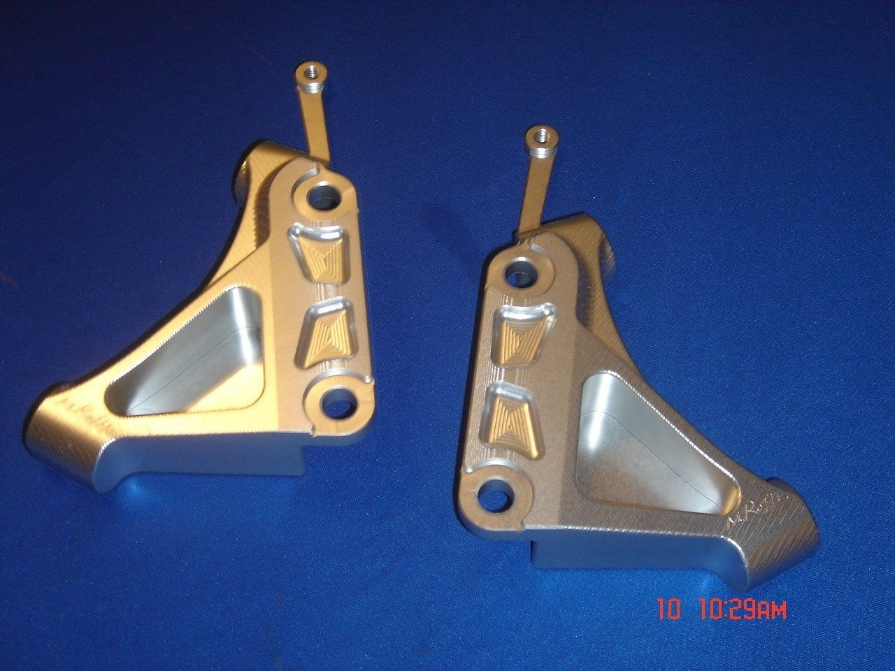 2000-2006 Honda RC51 SP1 / SP2 Radial 100mm Caliper Mount Kit