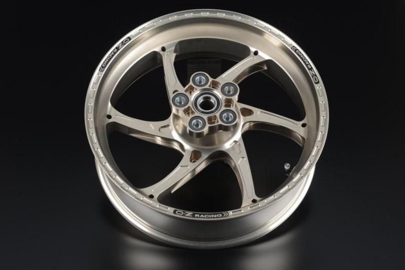 OZ Motorbike GASS RS-A Forged Aluminum Wheel Set 2009-15 Suzuki GSX-R1000
