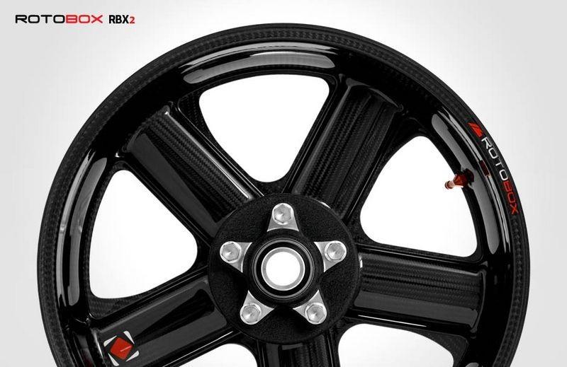 RotoBox RBX2 Carbon Fiber Wheel Set - Honda, Kawasaki, Suzuki, Yamaha, BMW, Aprilia, Ducati, KTM, MV Augusta