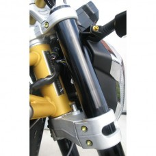 Pro-Bolt Titanium Top and Bottom Clamp Yoke Pinch Set,  Aprilia, Ducati, Suzuki, Yamaha