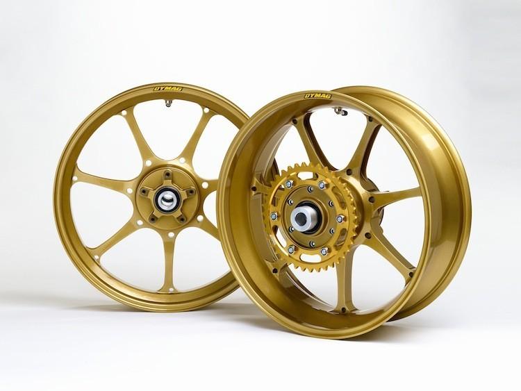 Dymag Ultra Pro UP7X Forged Aluminum Wheels - Honda, Kawasaki, Suzuki, Yamaha, BMW, Aprilia, Ducati, Triumph