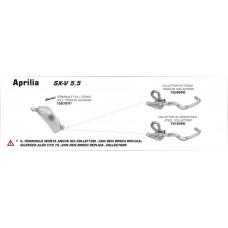 Arrow Full Titanium Underseat Exhaust - 2007-2014 SXV 4.5 / 450