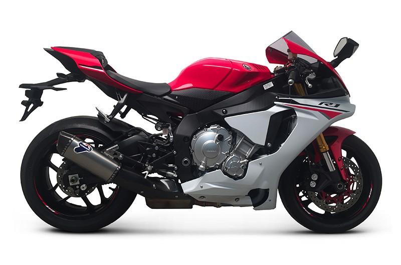 Termignoni Titanium Slip On Exhaust - 2015-16 Yamaha YZF-R1