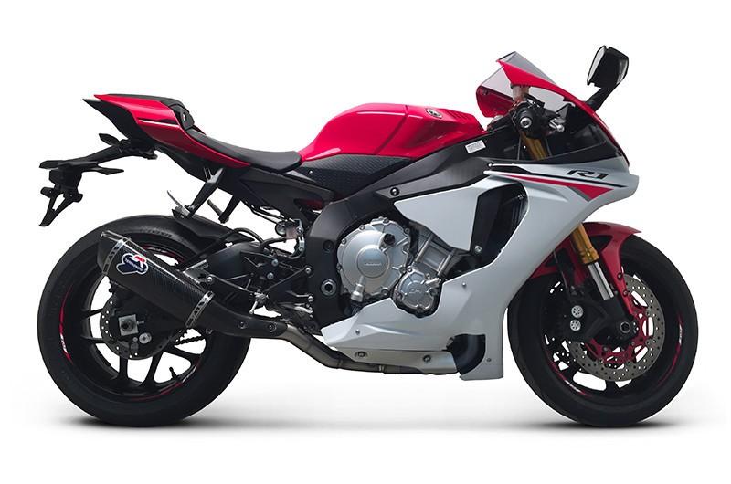 Termignoni Carbon Fiber Slip On Exhaust - 2015-16 Yamaha YZF-R1