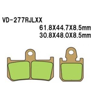 Vesrah VD-277 SRJL-XX Brake Pads 2007-2013 YZF-R1