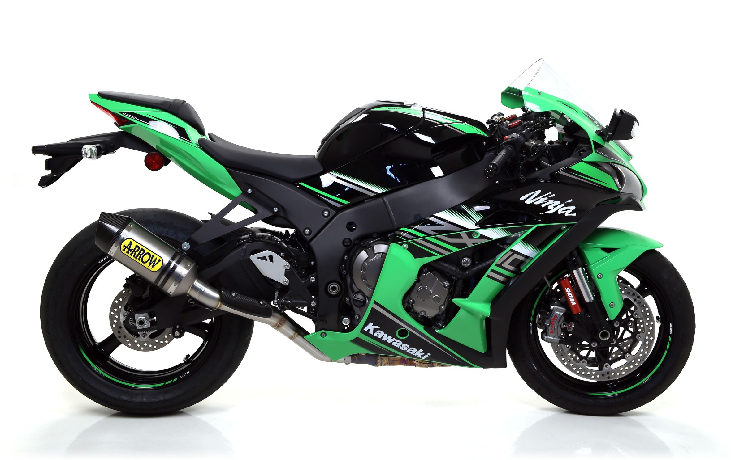 Arrow 2016 ZX-10R Titanium
