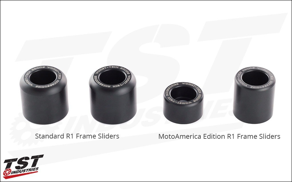 Womet-Tech Frame Sliders Yamaha 2015+ R1 MotoAmerica Edition
