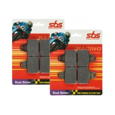 SBS Dual Sinter Brake Pads-BMW S1000RR - 870DS